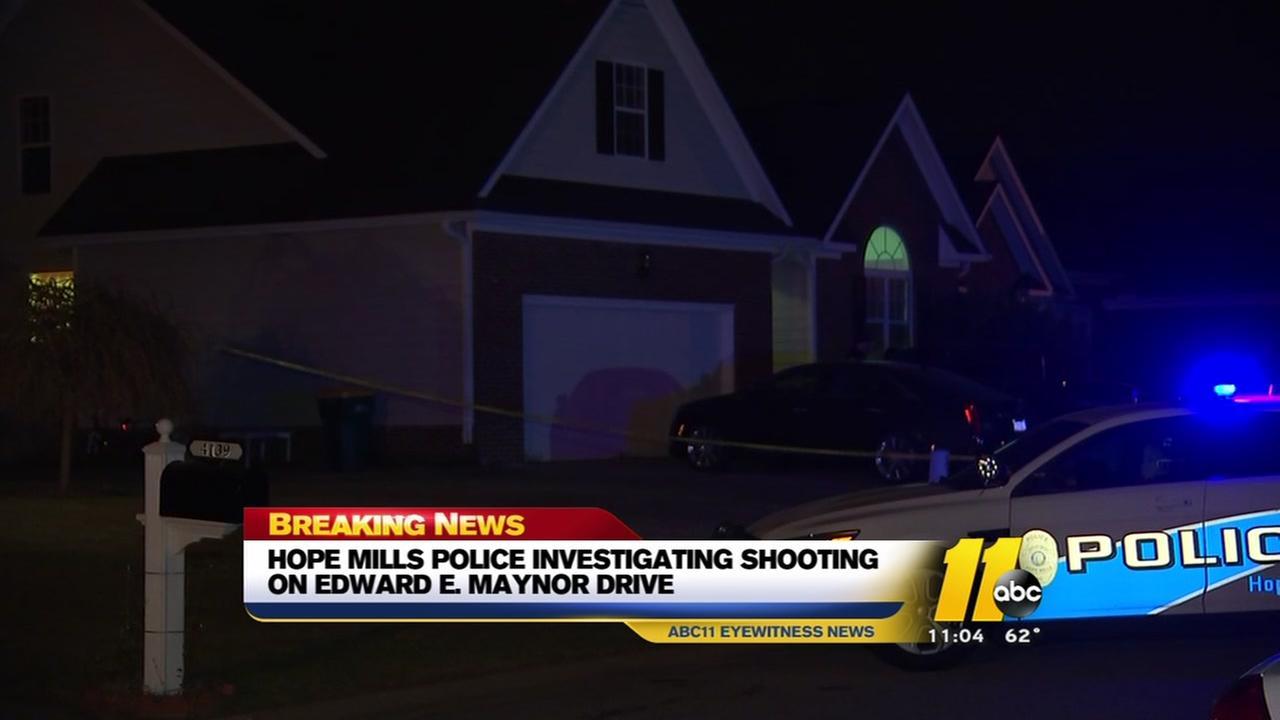 Hope Mills Police investigate shooting