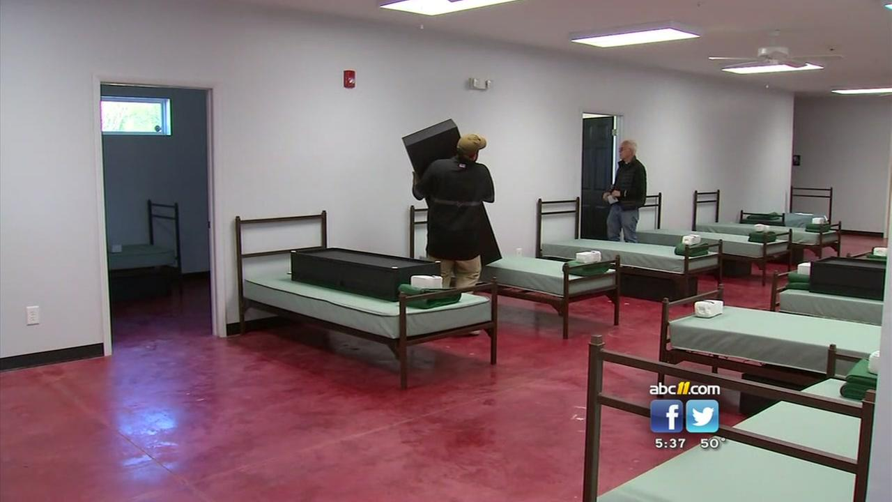 New homeless shelter set to open in Fayetteville