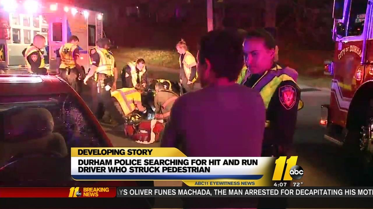 Durham Police search for hit-and-run driver