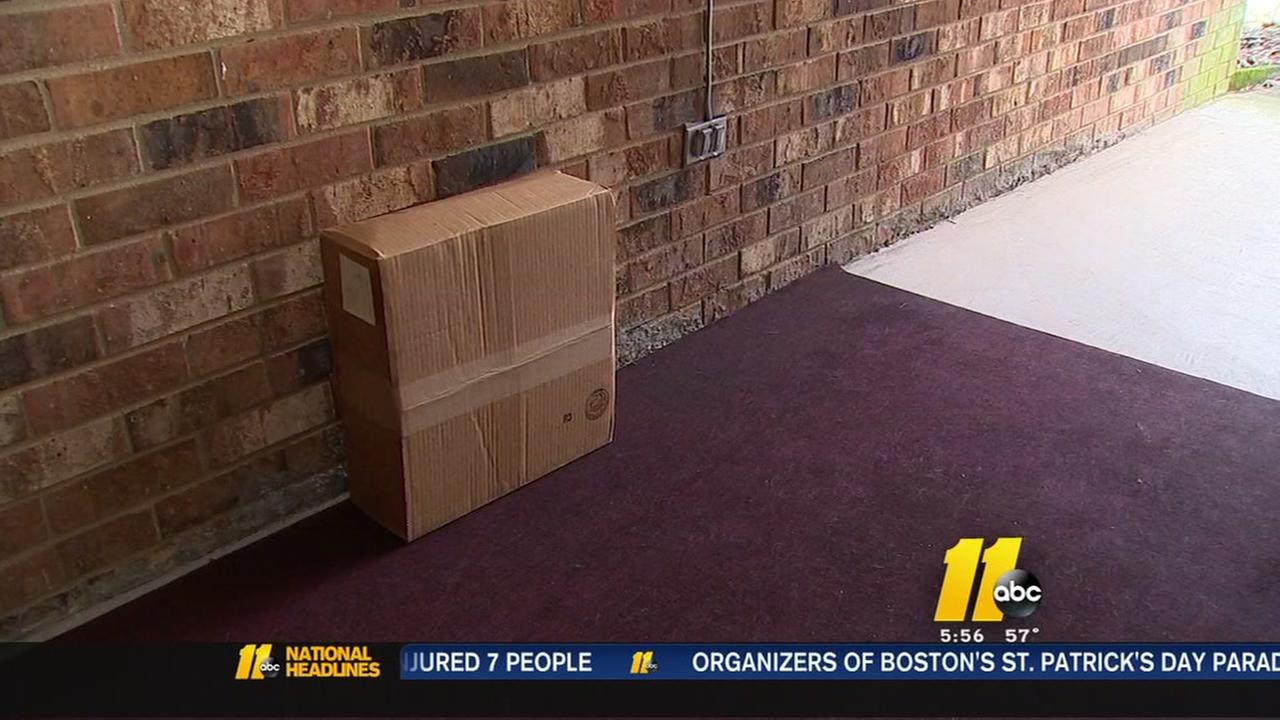 FedEx delivers package to wrong address