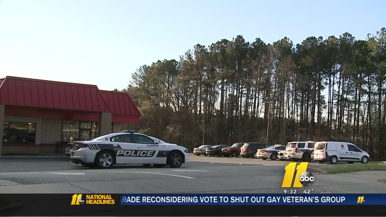 Attempted robbery at Durham restaurant