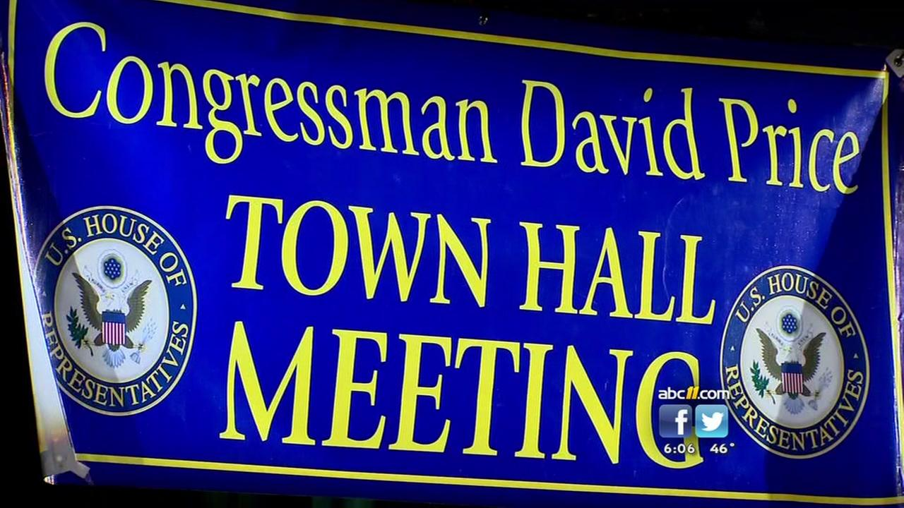 David Price holds town hall