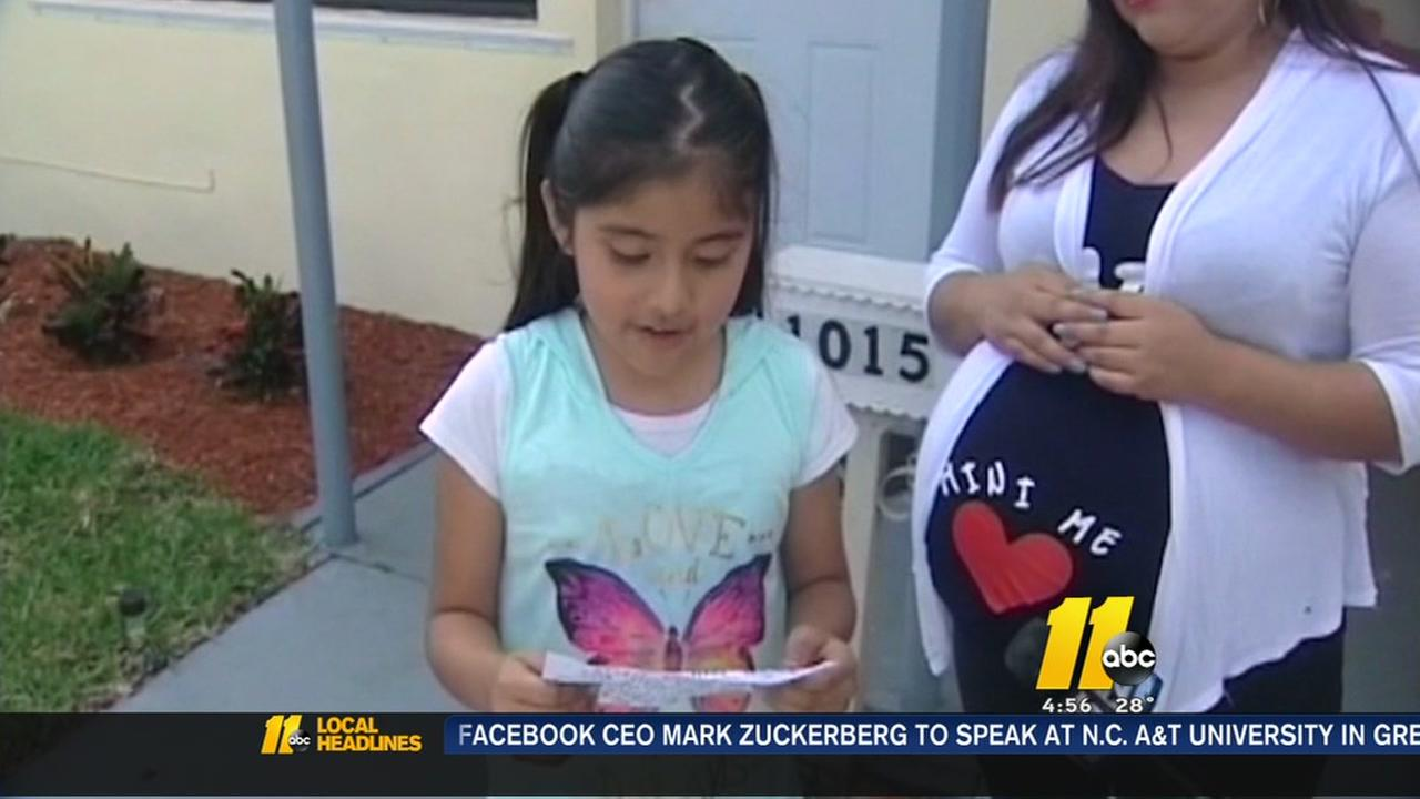 8-year-old girl writes notes to thief who ransacked home