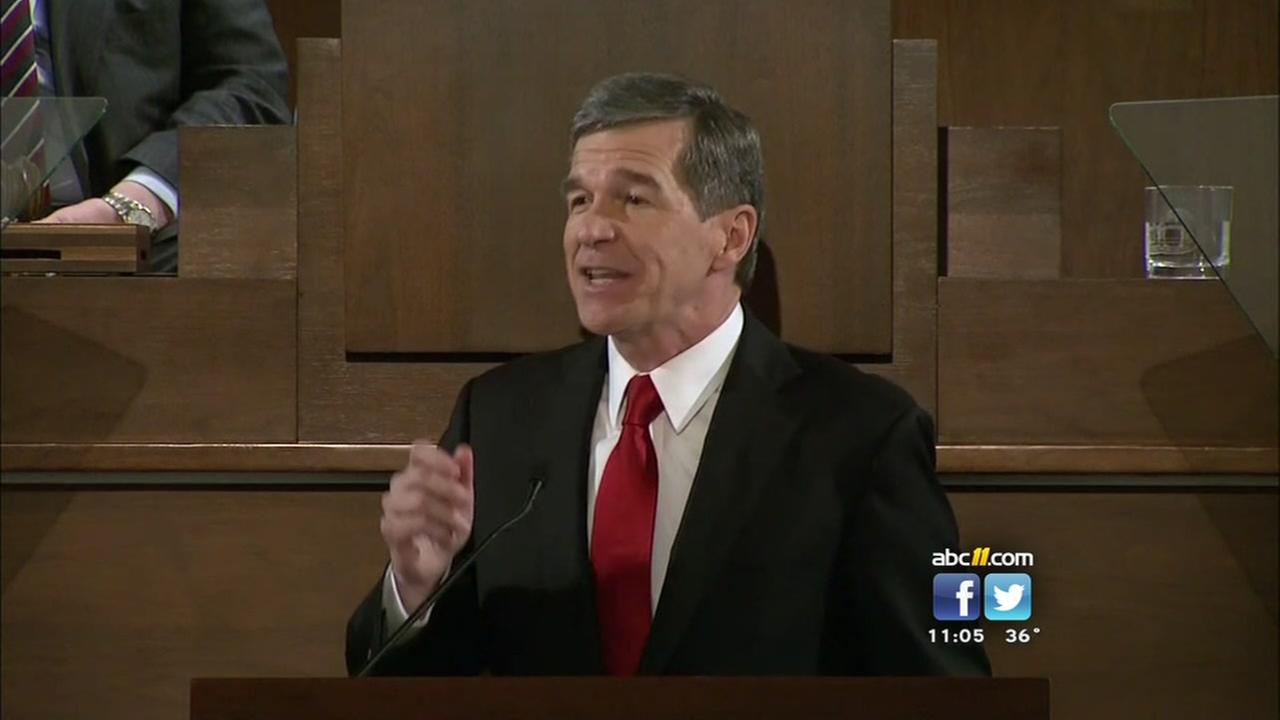Roy Cooper gives State of the State address