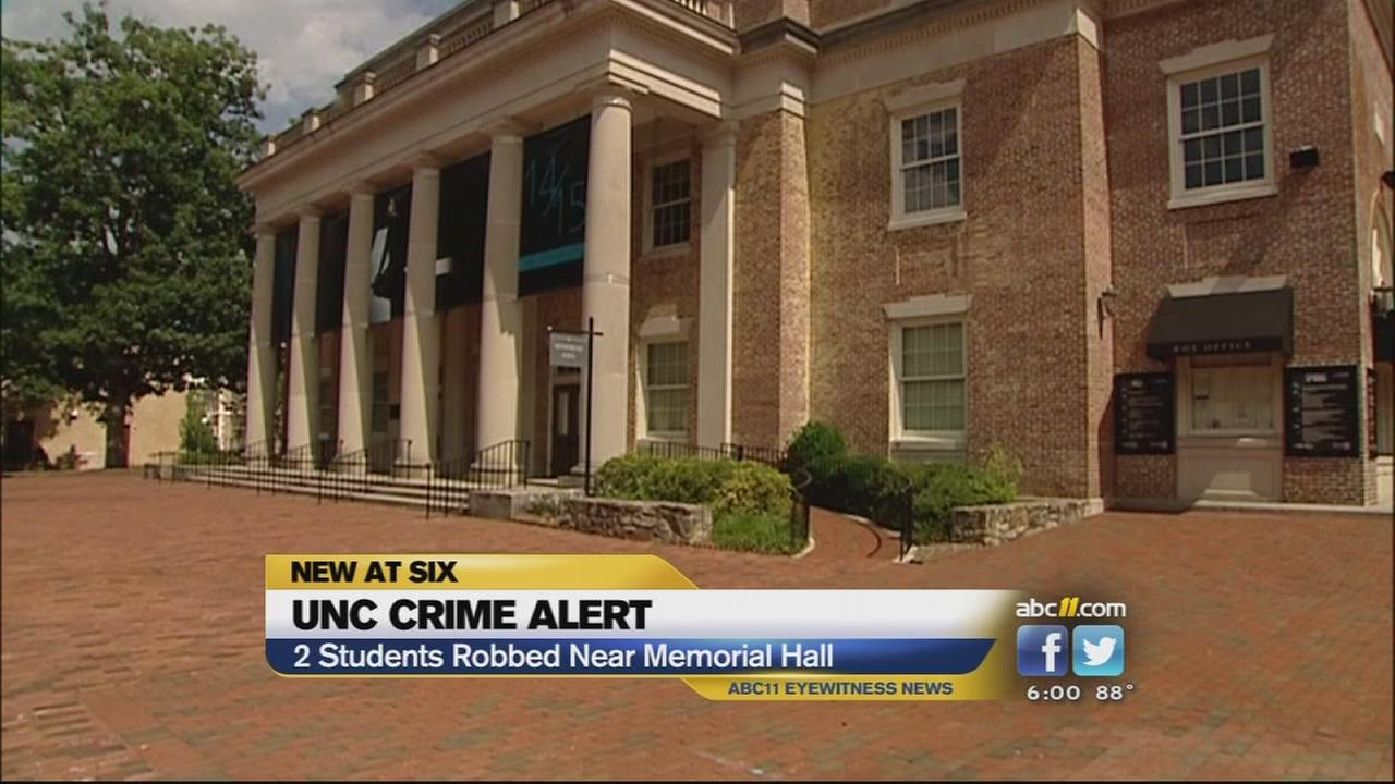 Armed robbery at UNC Chapel Hill