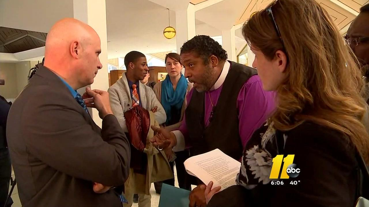 NC NAACP leader nearly arrested