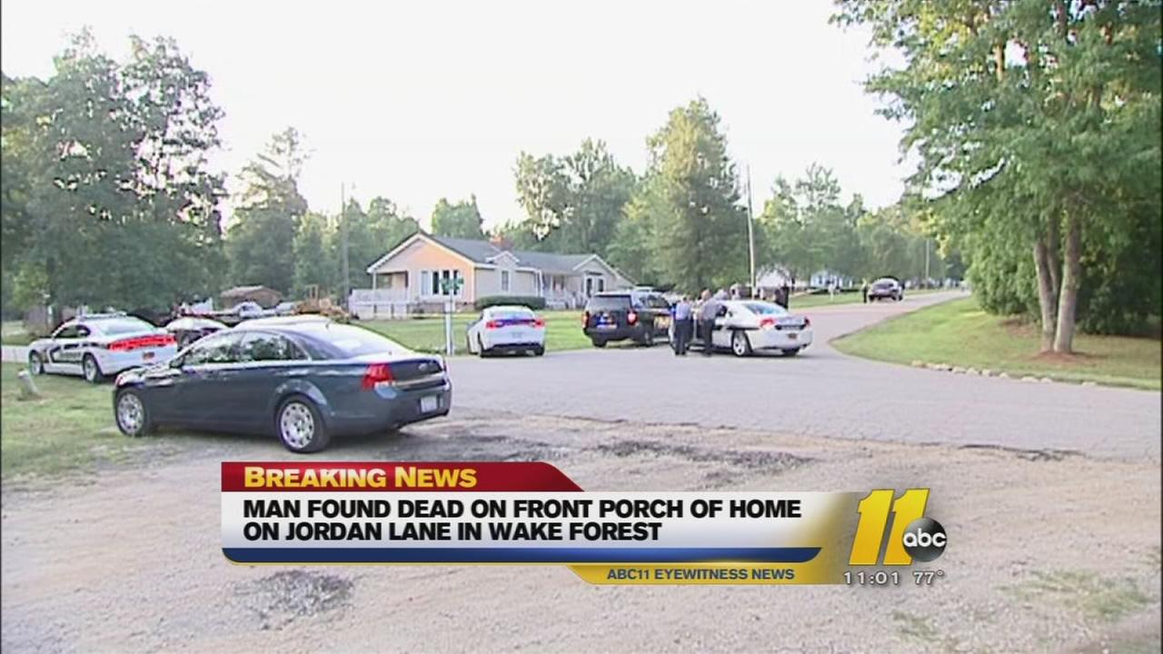 Homicide investigation in Wake Forest