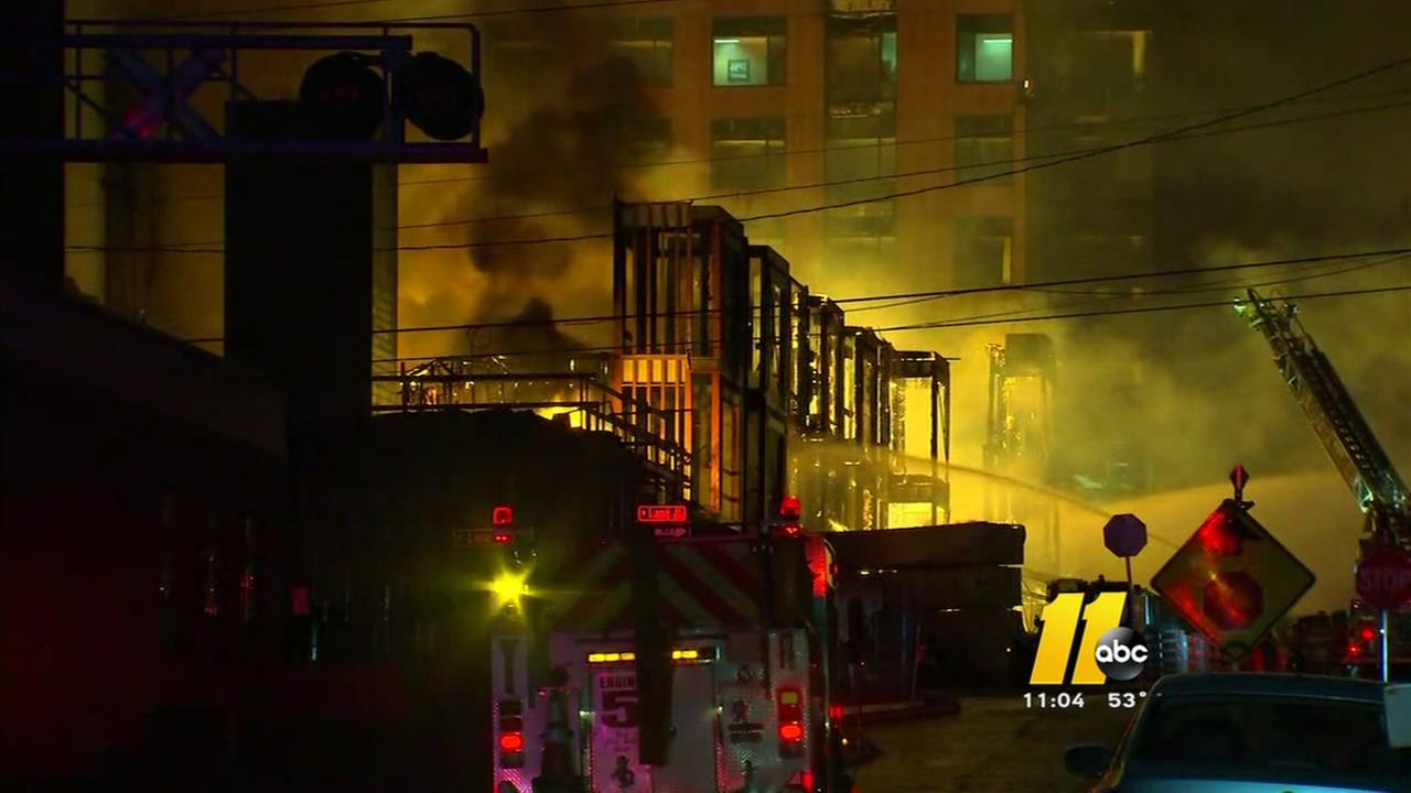 Searching for answers after the massive Raleigh fire