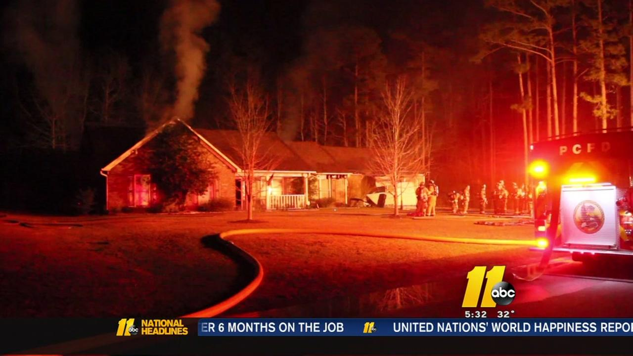 Fire rips through Cumberland County home