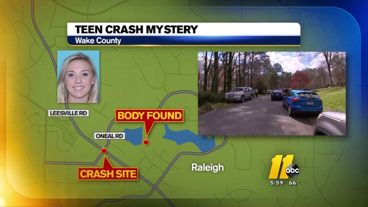Teen crash mystery