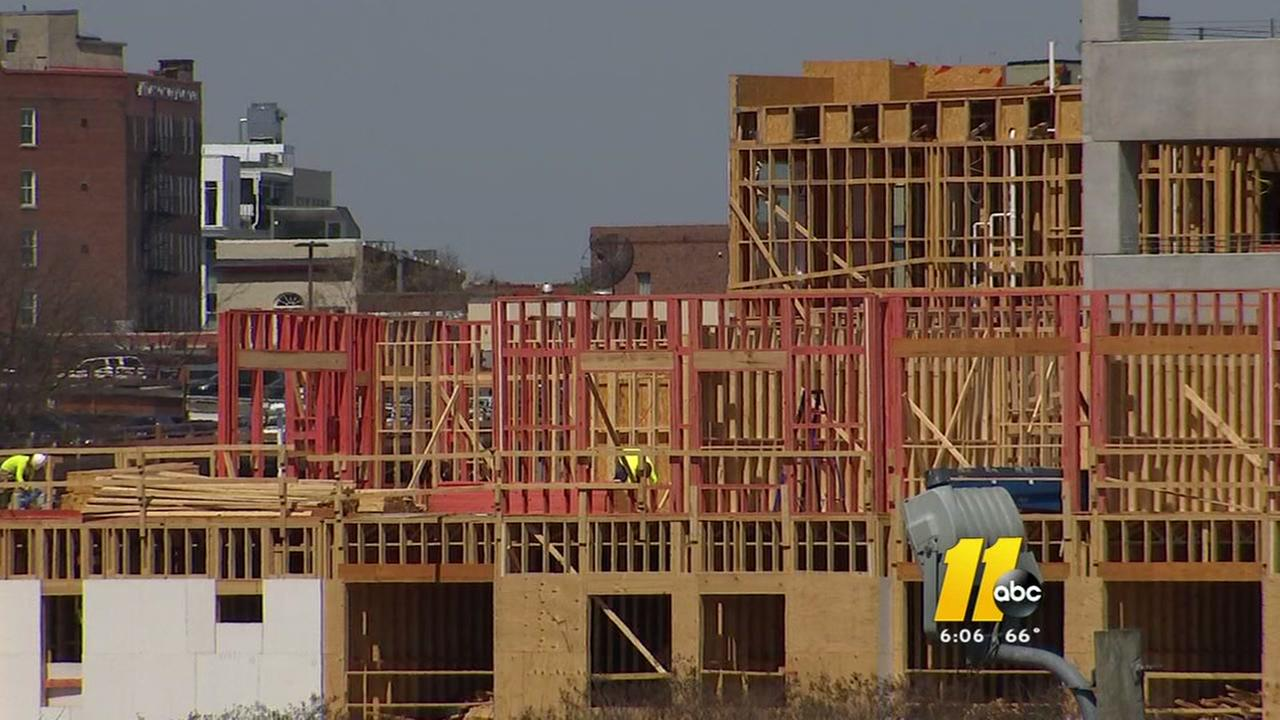 Wood-framed apartment construction booming in Triangle