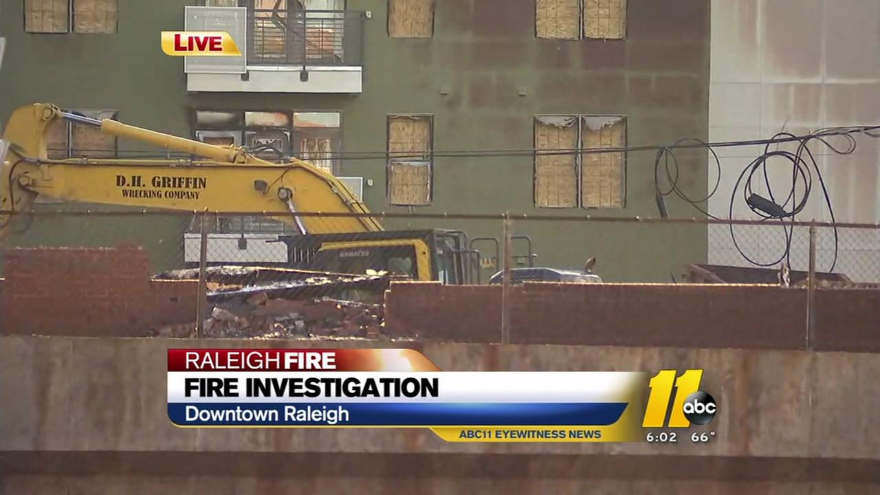 Investigators still search for cause of Raleigh fire