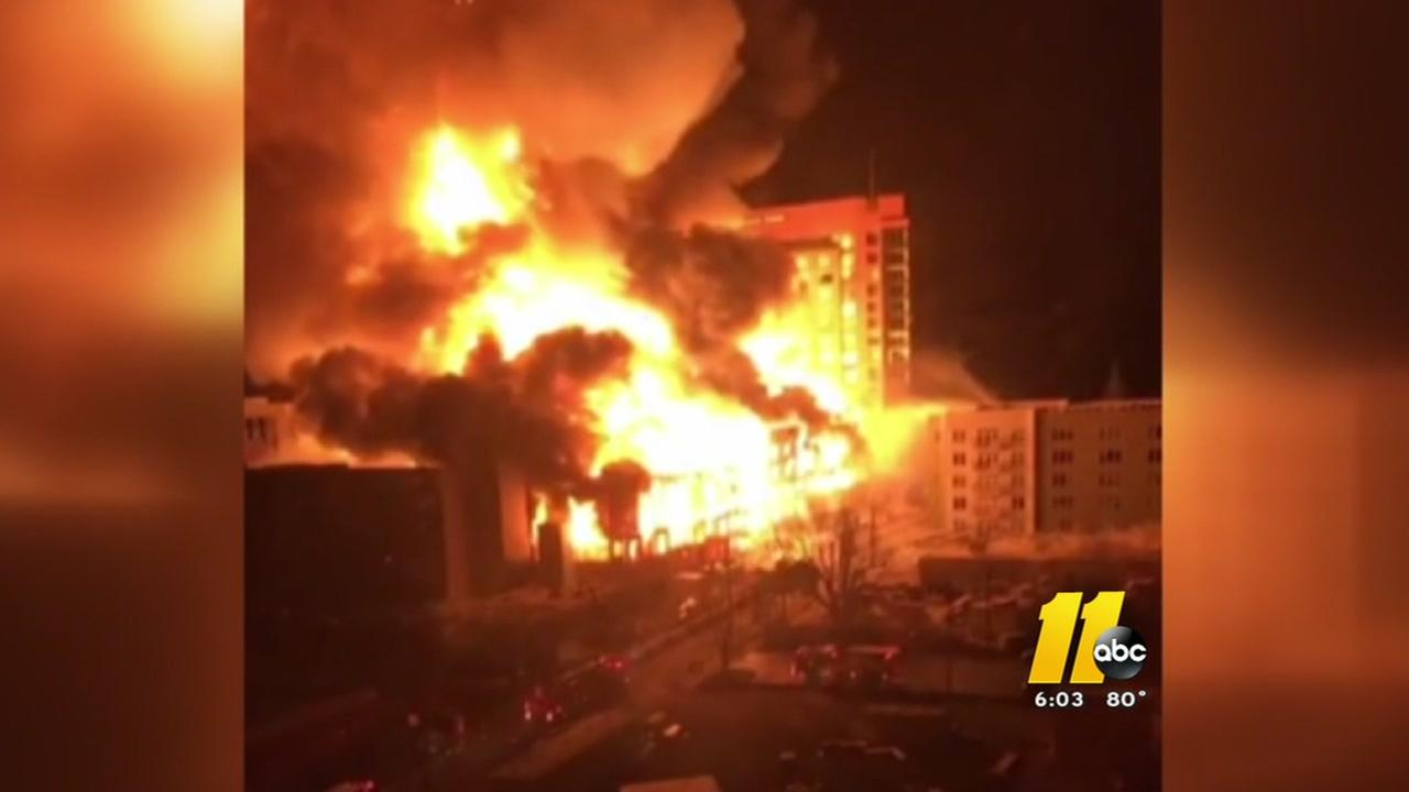 Downtown Raleigh fire prompts code review