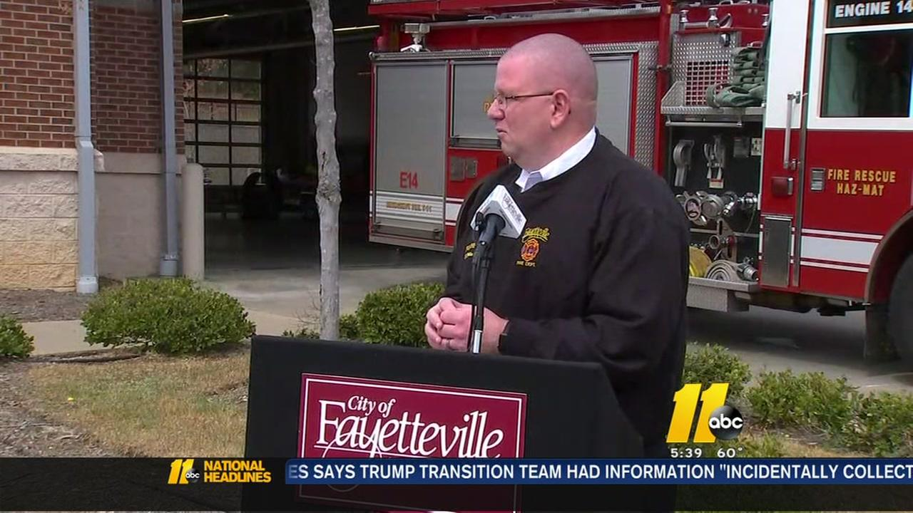Fayetteville Fire Department gets large donation