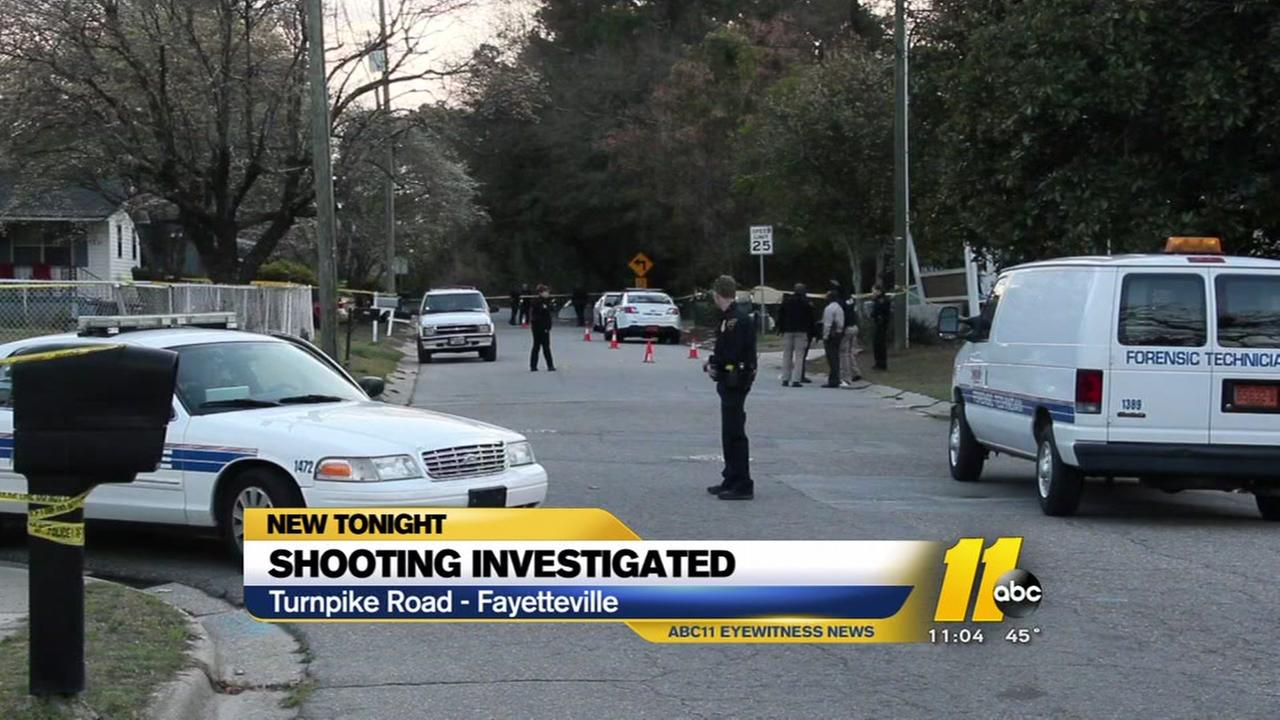 Man shot in head in Fayetteville