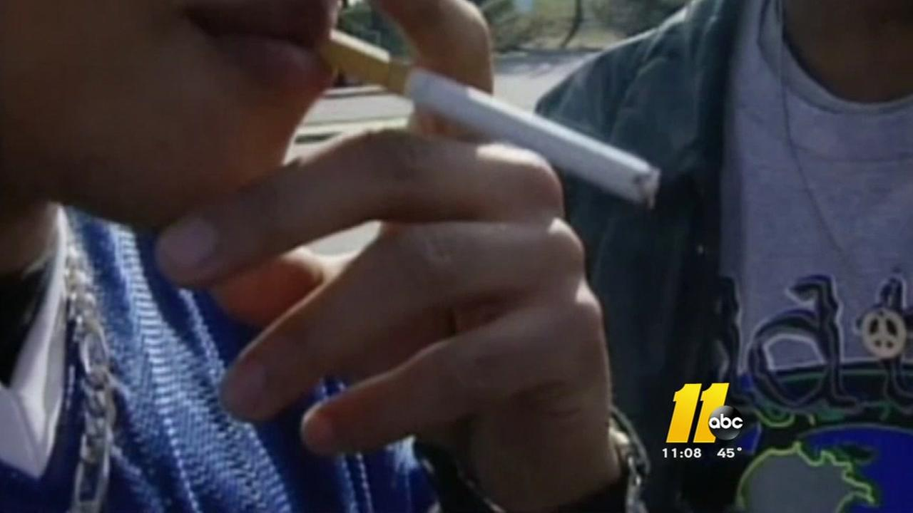 Bill would raise North Carolina smoking age to 21