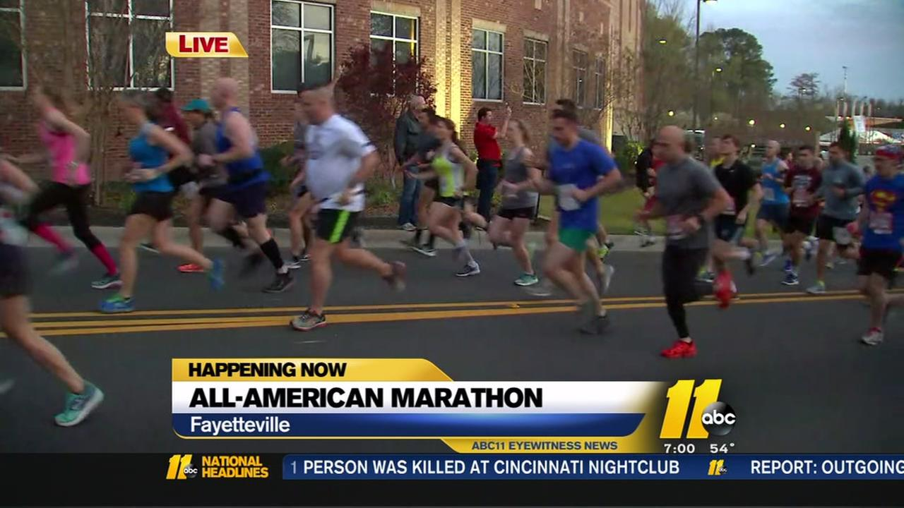 All-American Marathon begins