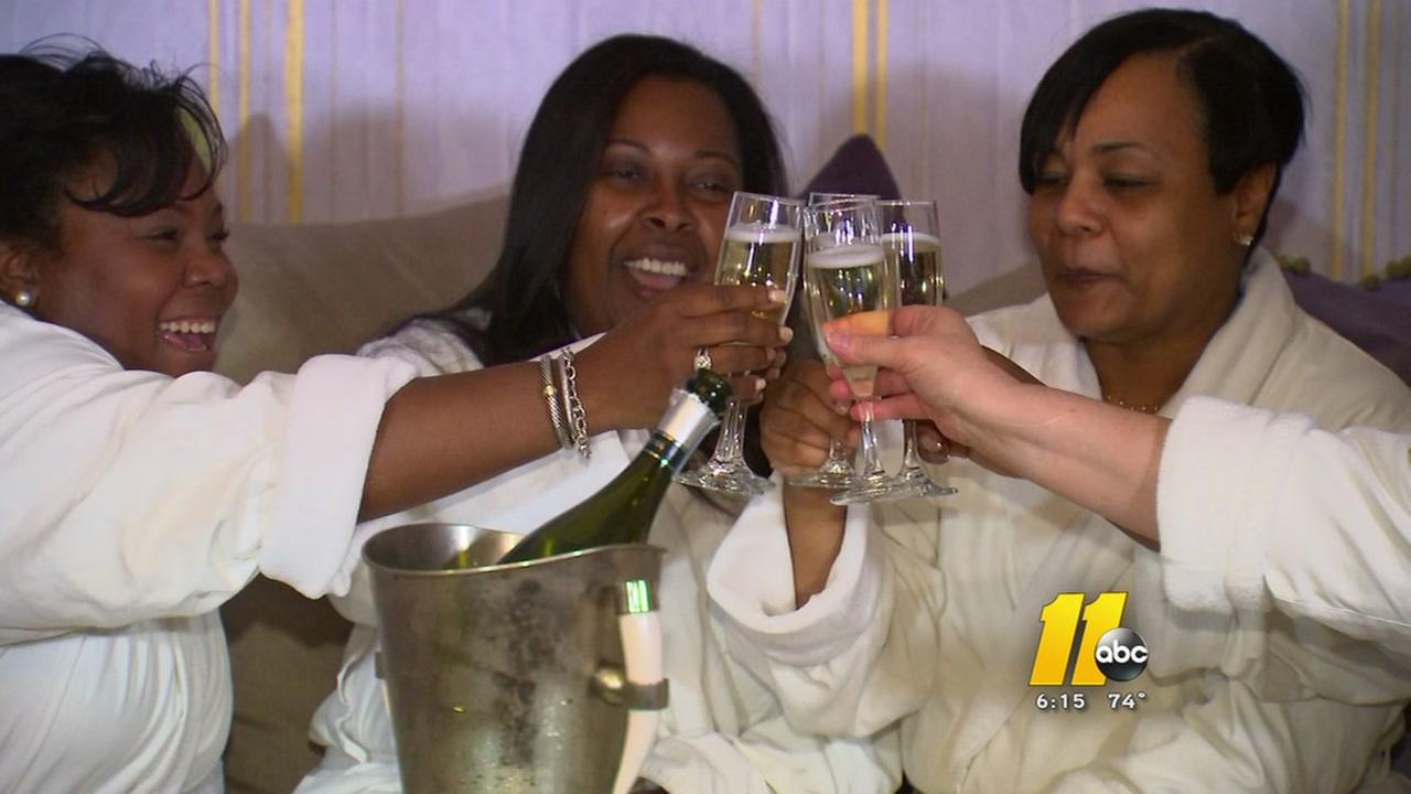 Raleigh teachers enjoy free spa day