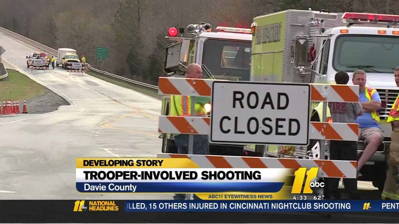 State trooper involved in shooting
