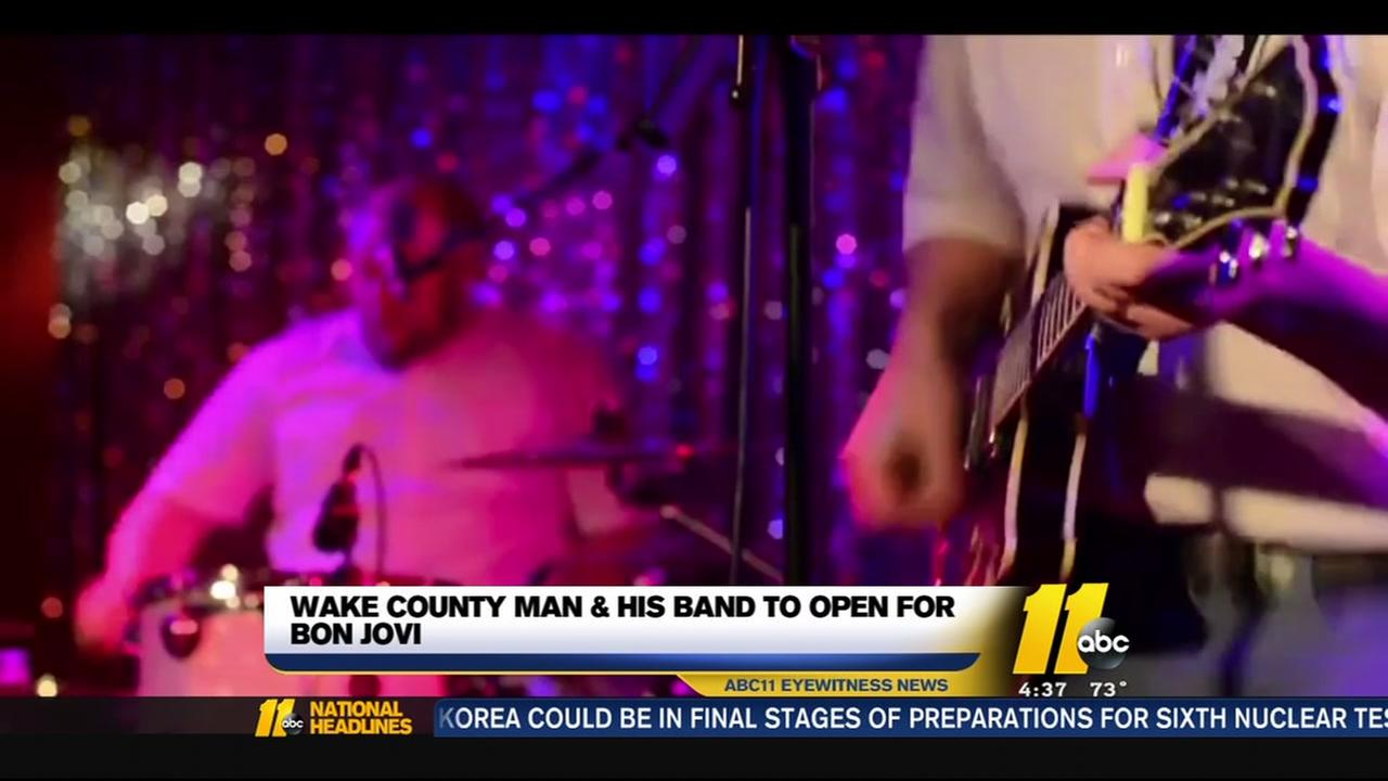 Wake County dad to open for Bon Jovi