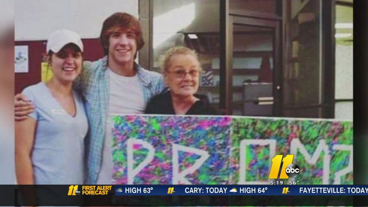Principal denies teens request to take grandma to prom