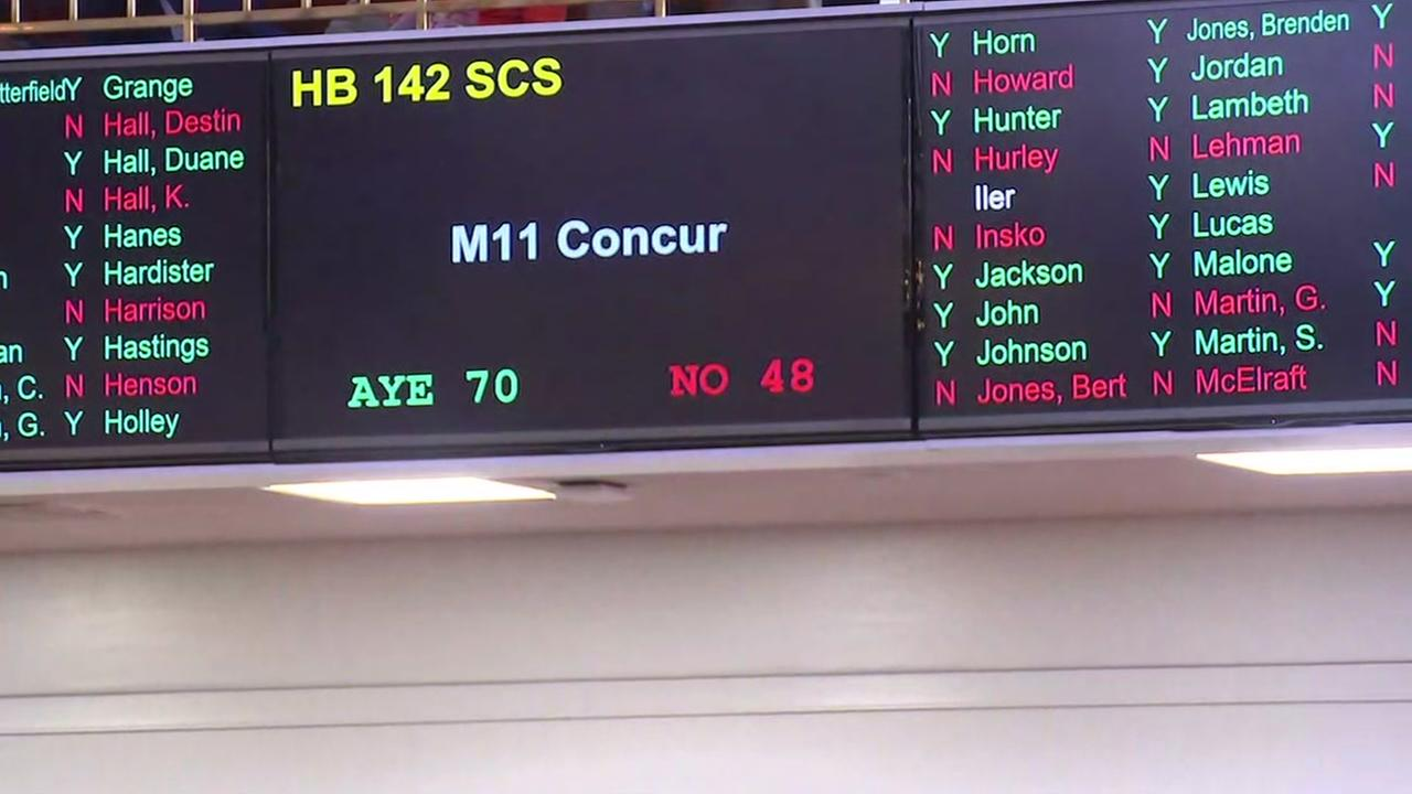 North Carolinas HB2 compromise bill passes
