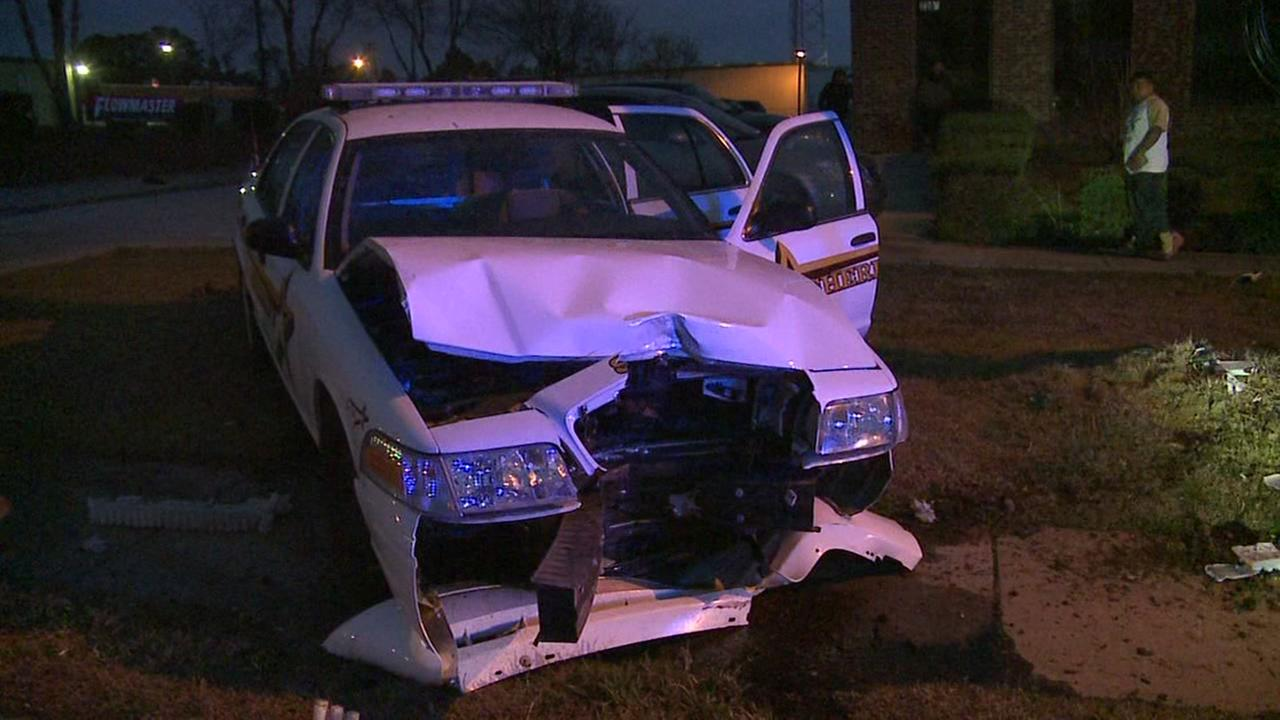 Raw video: Durham County deputy involved in crash