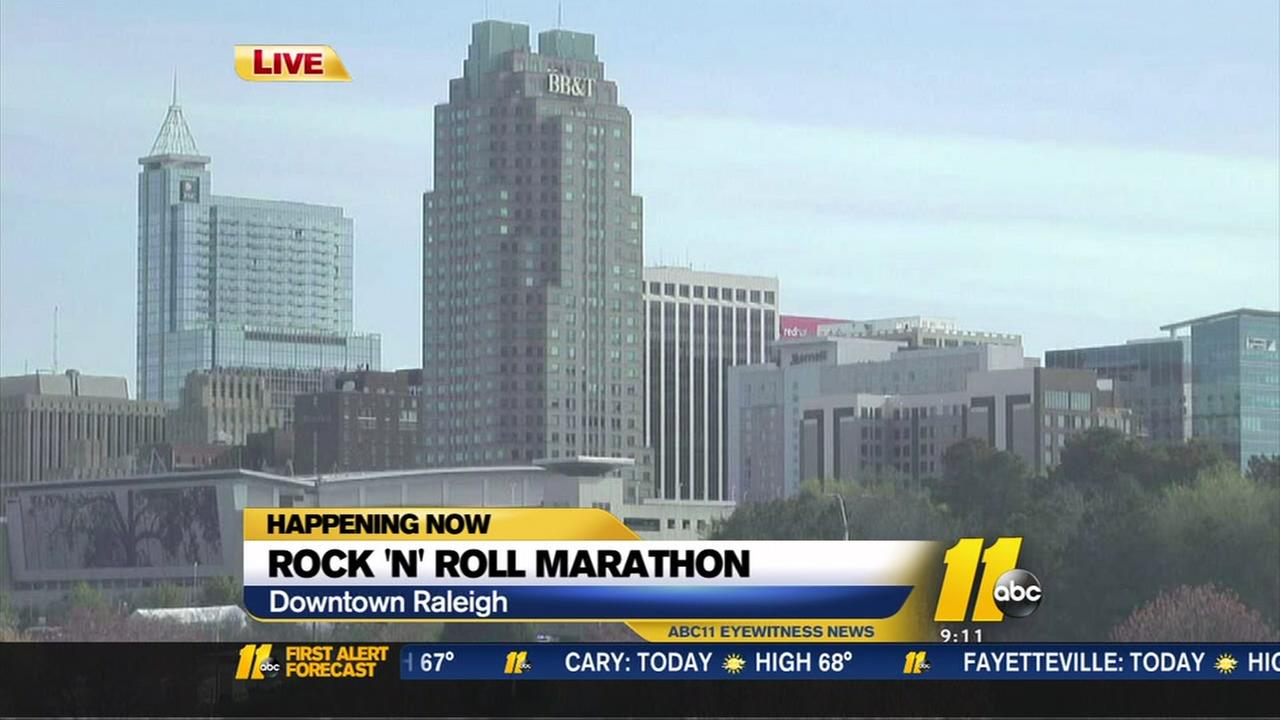 Raleigh roads close for Rock N Roll Marathon