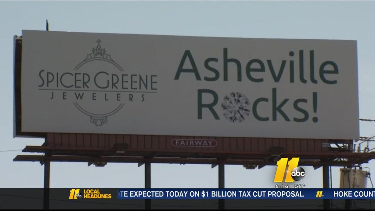 North carolina jeweler apologizes for billboard that some for Jewelry stores in fayetteville nc
