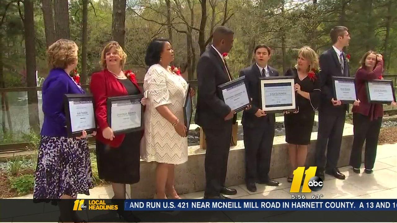 NC teachers of the year