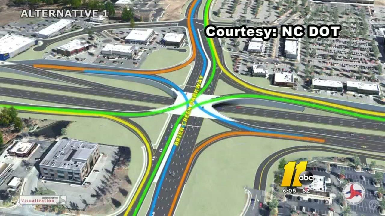 Traffic relief planned for Brier Creek area