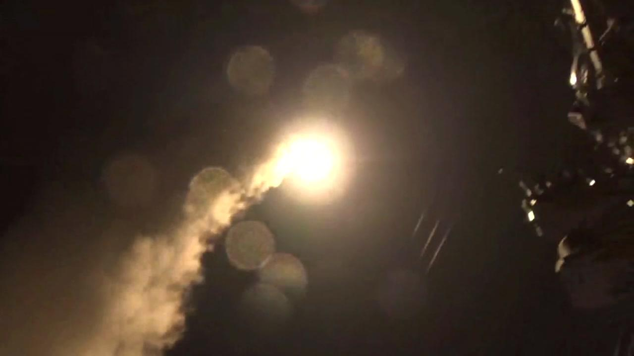 RAW VIDEO: Tomahawk cruise missile launch