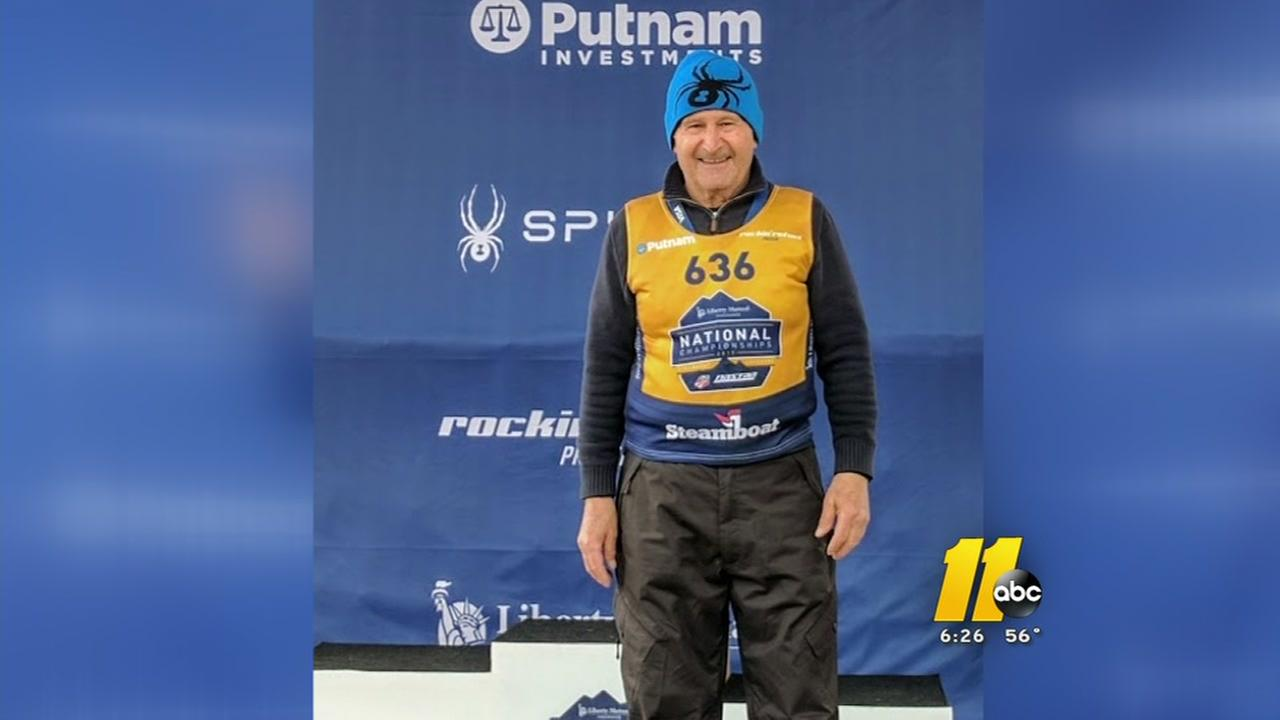 81-year-old wins National skiing medal
