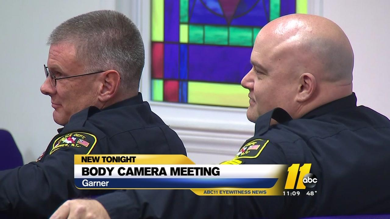 Garner body-camera meeting