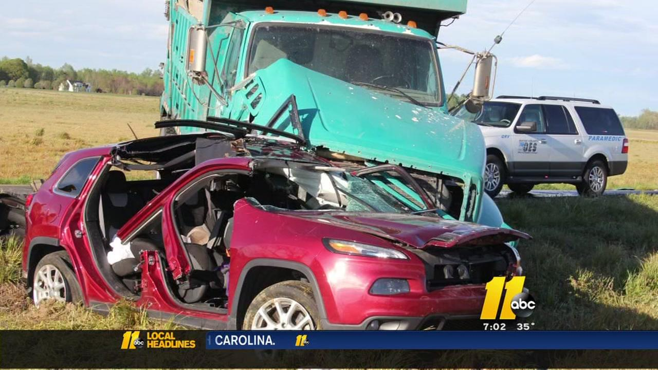 truck crash com charges pending for w in mount olive crash
