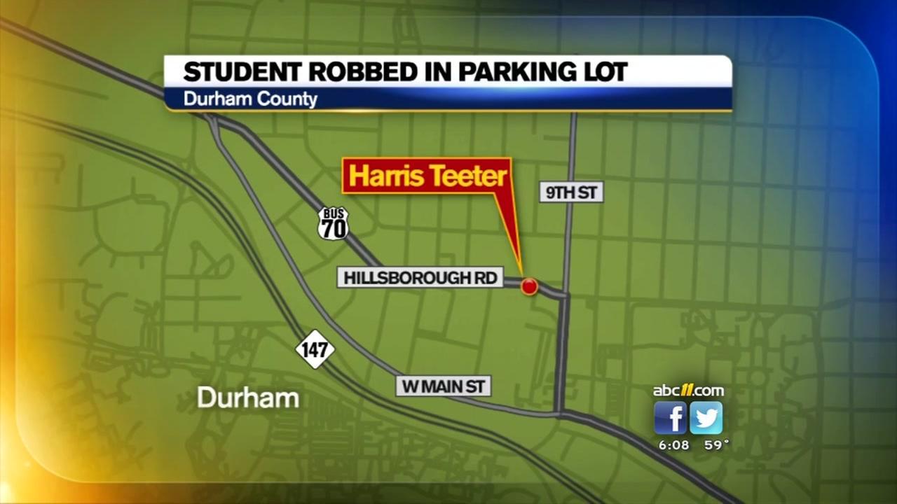 Police investigate Duke student robbery