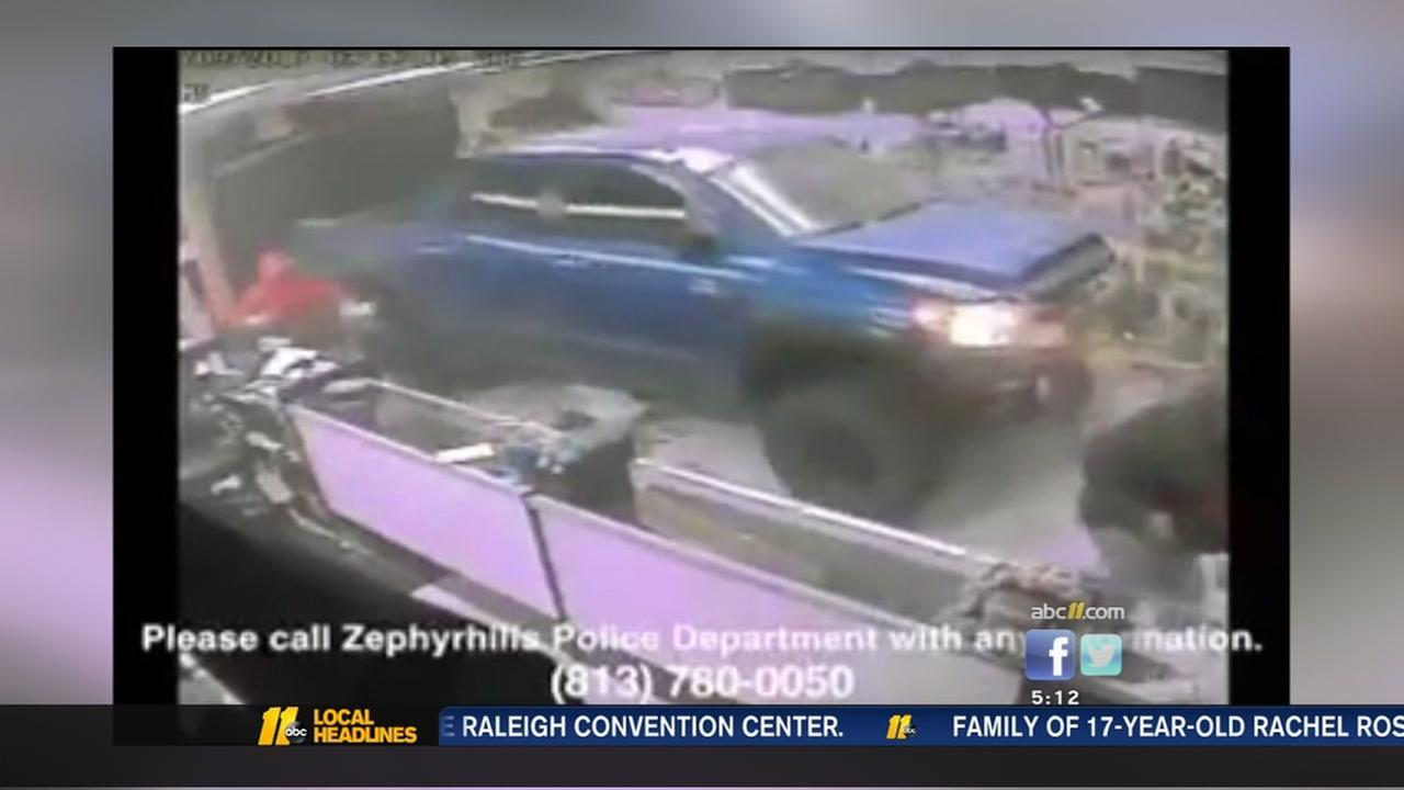 Gun store robbery in Florida