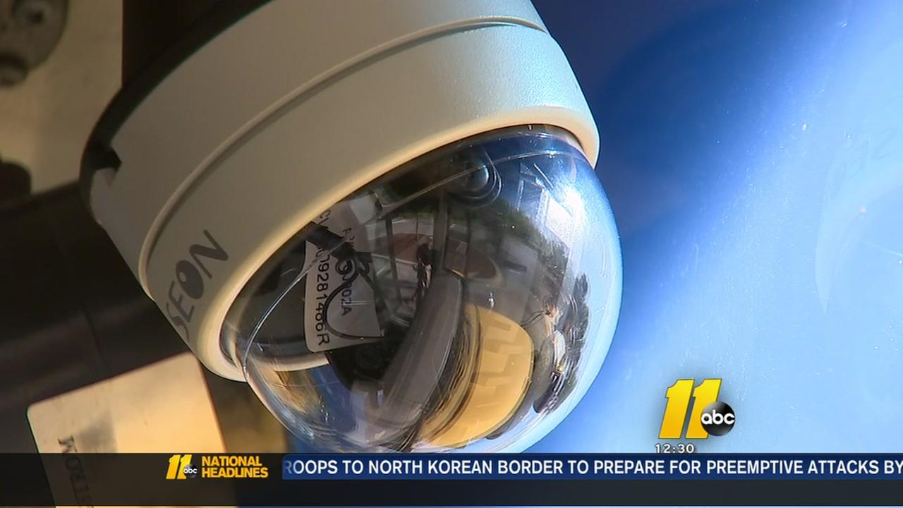 Wake installing cameras on school buses