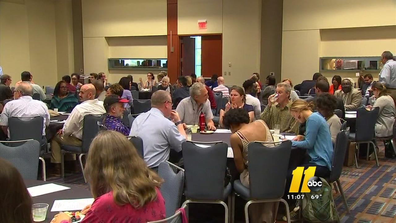 Raleigh holds community conversation wrap-up