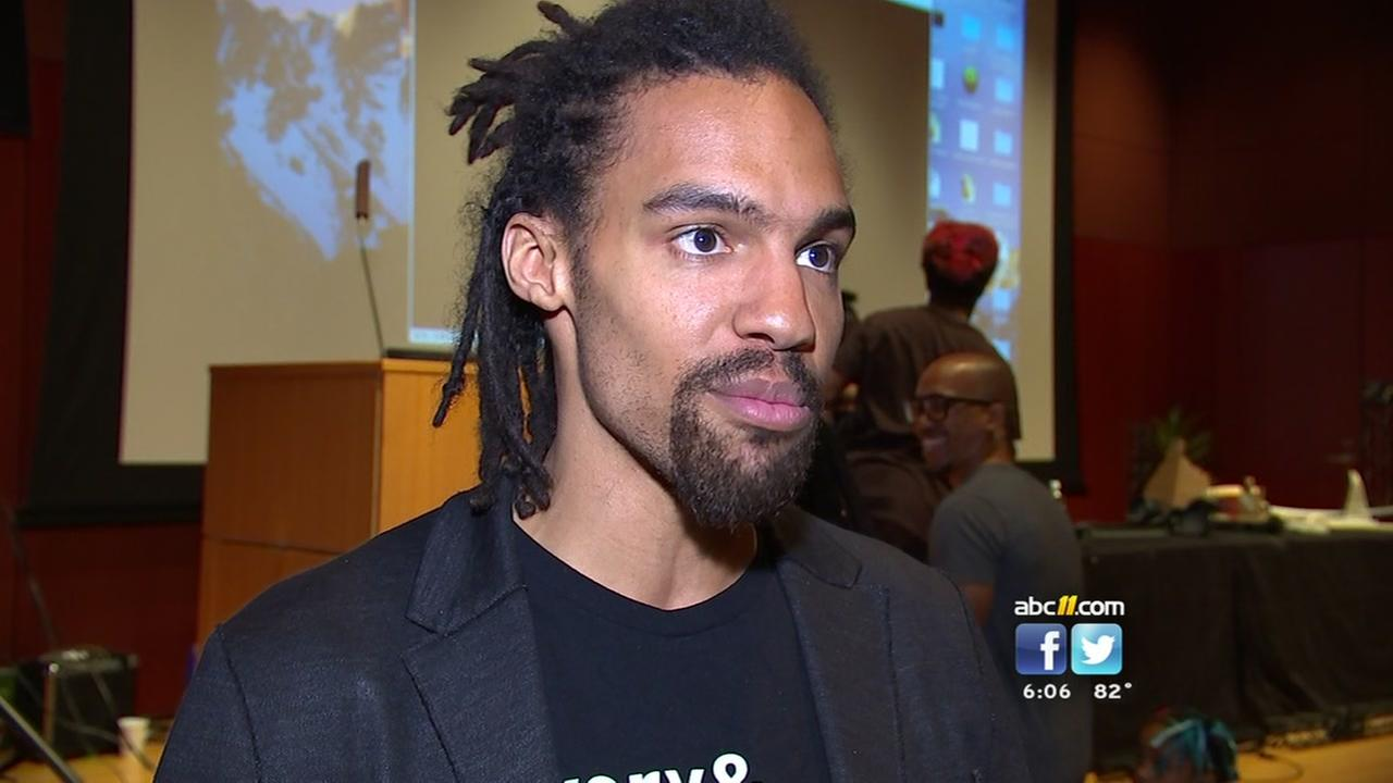 Pierce Freelon is a former political science professor, turned activist, artist and rapper -- and now he wants to be mayor of Durham.