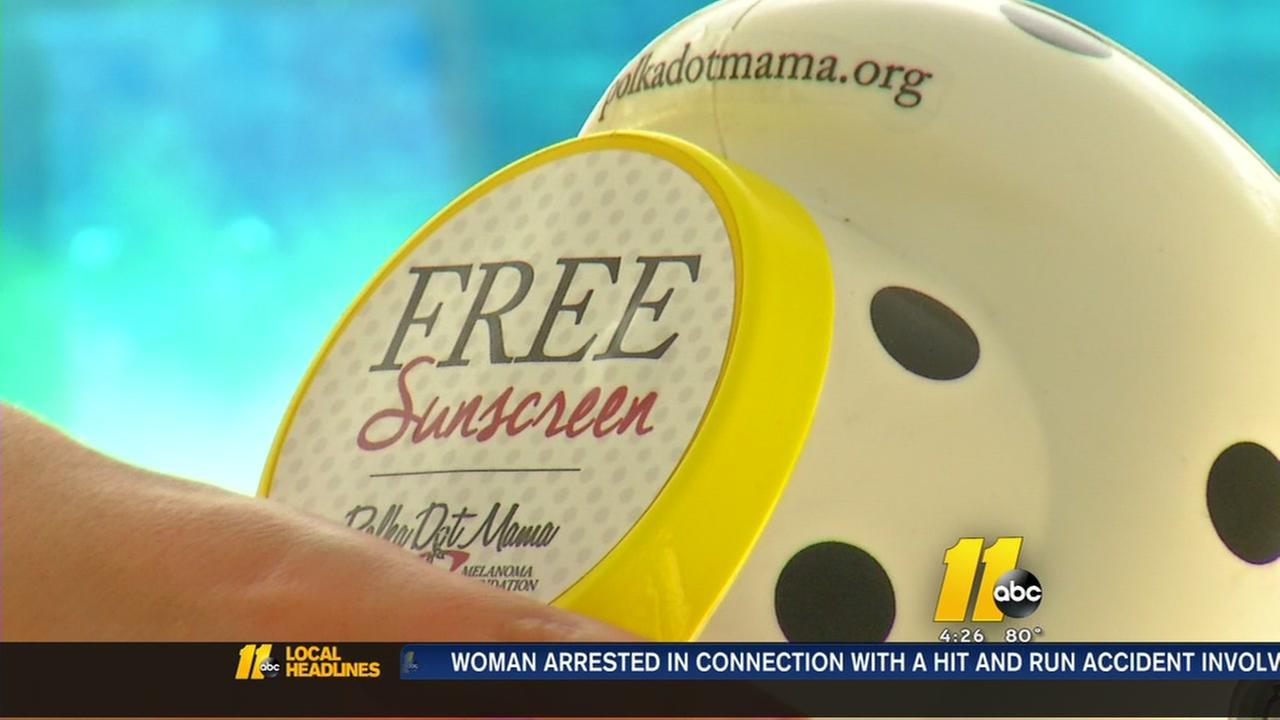 Polka Dot Mama helps spread awareness of melanoma risks