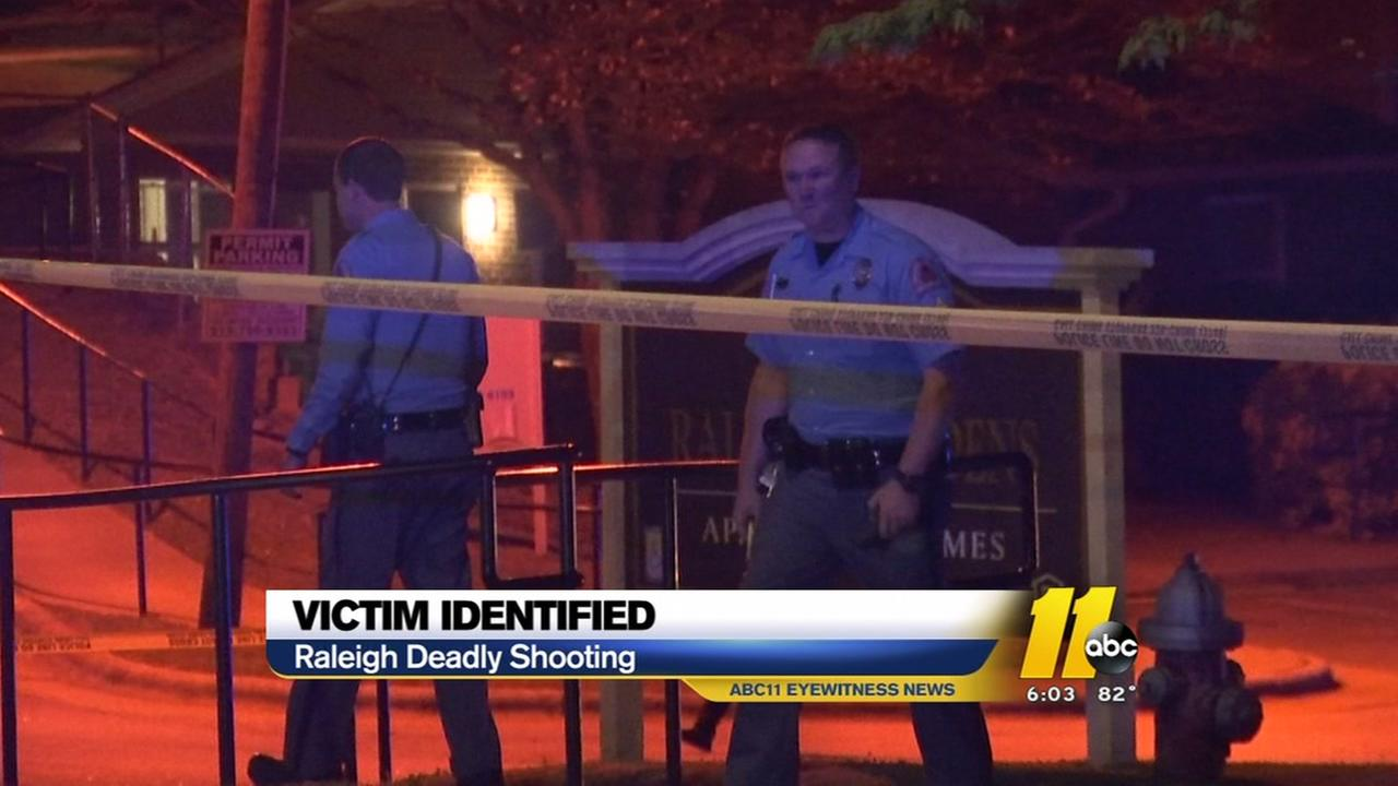 Man killed in Raleigh shooting