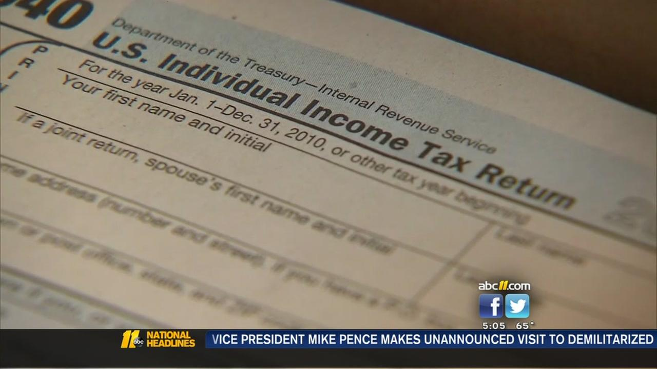 Tax deadline looming