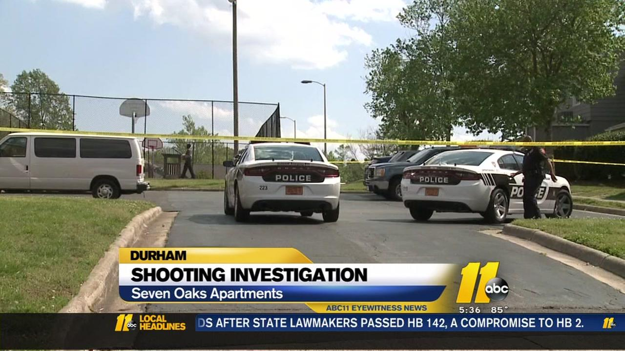 Shooting investigation in Durham