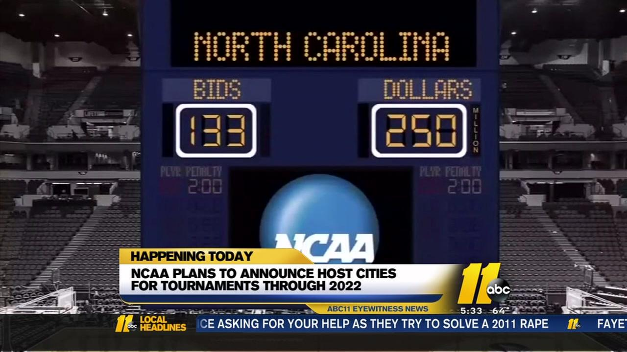 Will North Carolina host NCAA tournaments? Decision day approaches