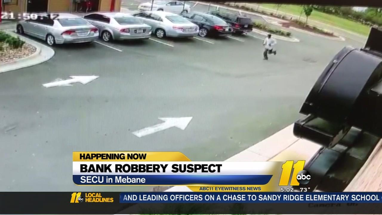 Man robs credit union in Mebane