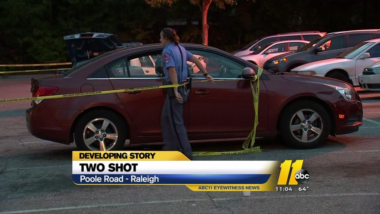 Two people shot in Raleigh