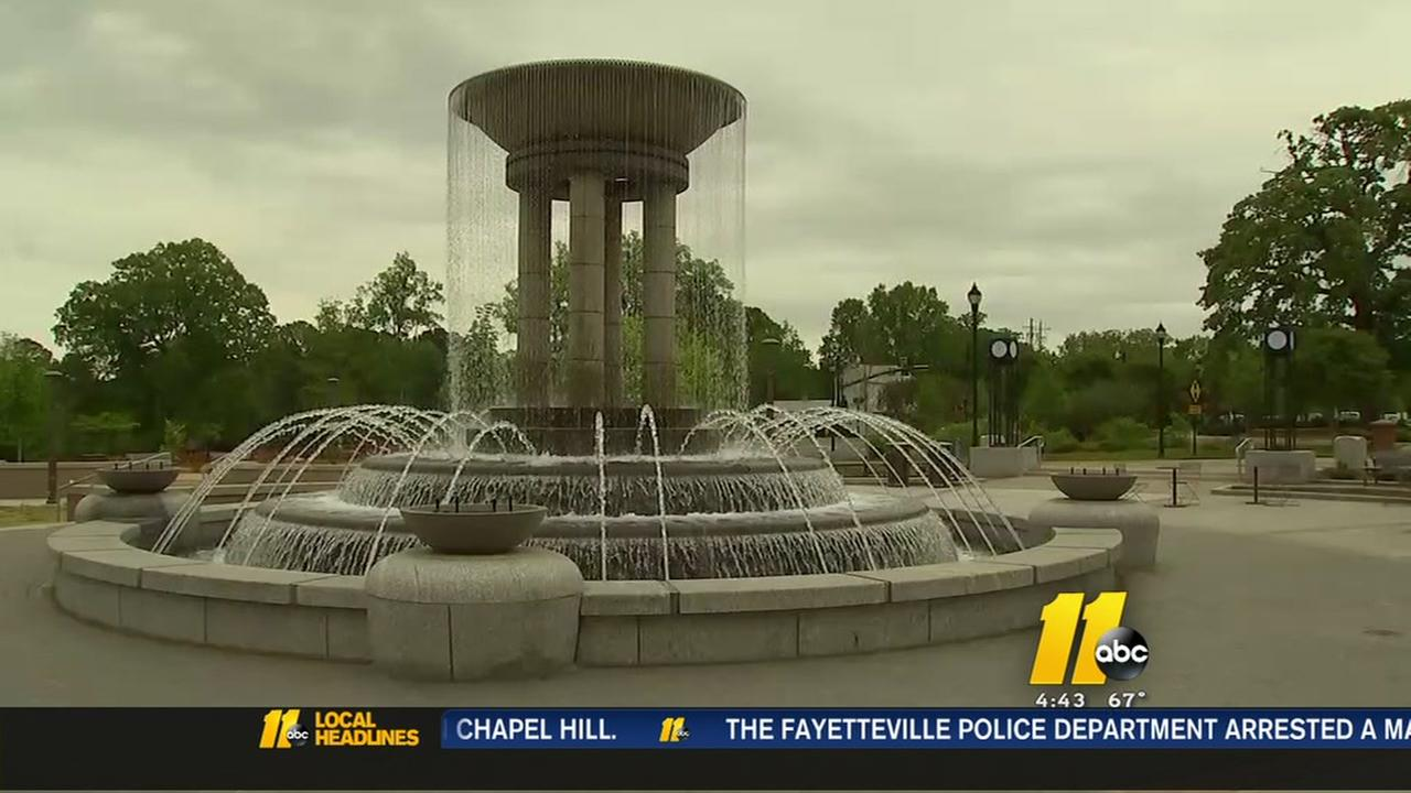 New Cary fountain to fund recreation scholarships