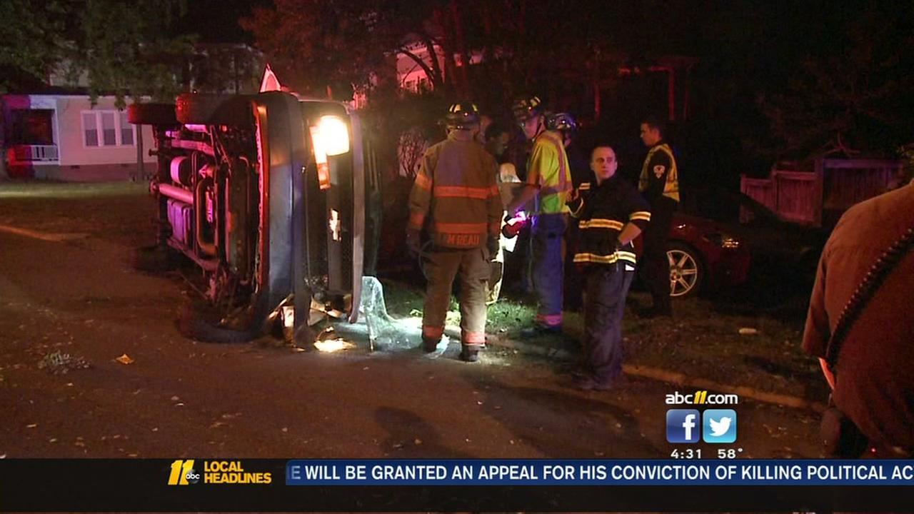 Durham police investigating crash