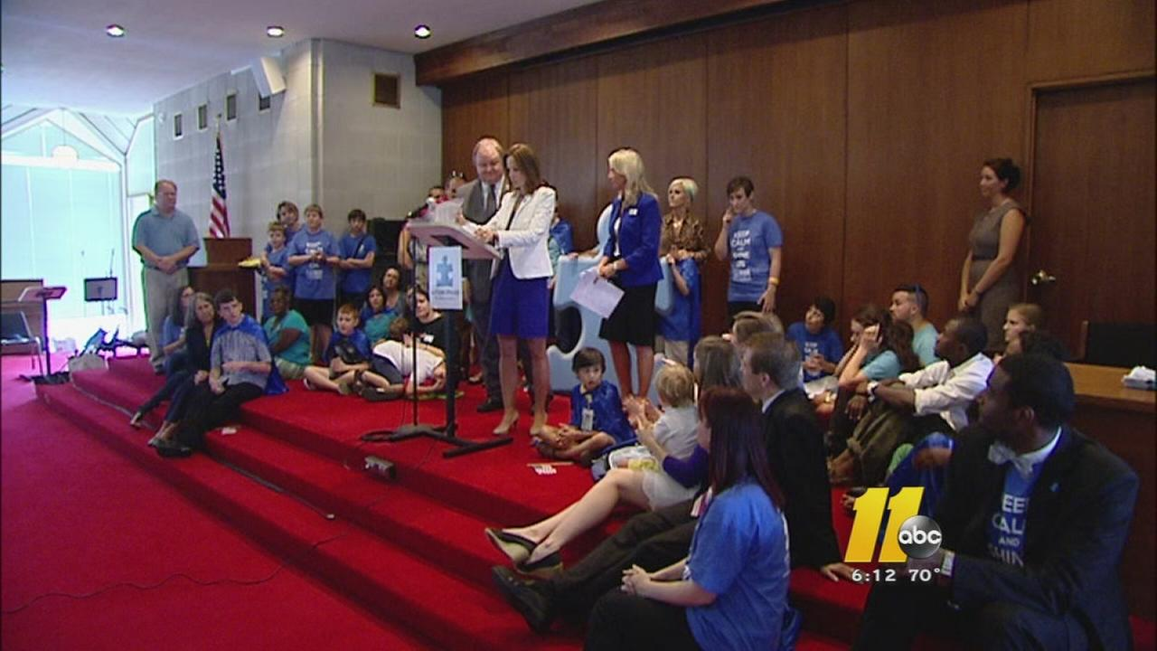 Autism advocates rally for autism insurance bill